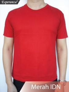 Kaos-Polos-Merah-Indonesia