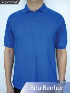 Polo-Shirt-Biru-Benhur