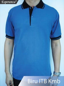 Polo-Shirt-Biru-ITB-Kmb