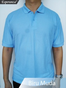 Polo-Shirt-Biru-Muda