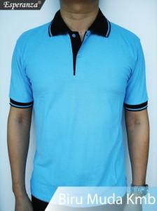 Polo-Shirt-Biru-Muda-Kmb