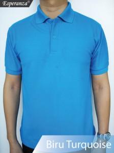 Polo-Shirt-Biru-Turquoise