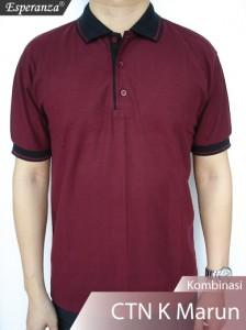 Polo-Shirt-CTN-Kmb-Marun