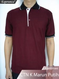 Polo-Shirt-CTN-Kmb-Marun-Putih