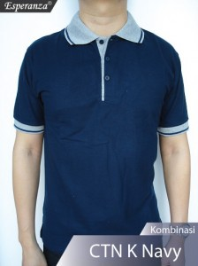 Polo-Shirt-CTN-Kmb-Navy