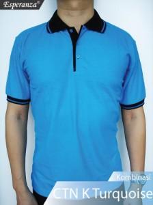 Polo-Shirt-CTN-Kmb-Turquoise