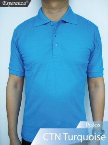 Polo-Shirt-CTN-Turquoise