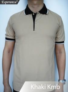Polo-Shirt-Coklat-Khaki-Kmb