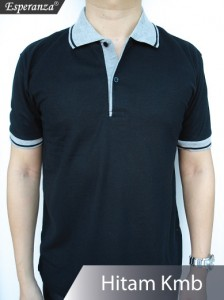 Polo-Shirt-Hitam-Kmb