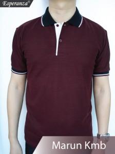 Polo-Shirt-Marun-Kmb