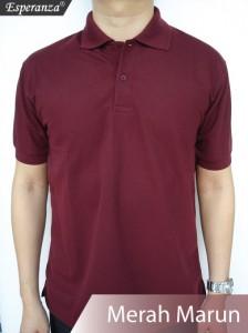 Polo-Shirt-Merah-Marun