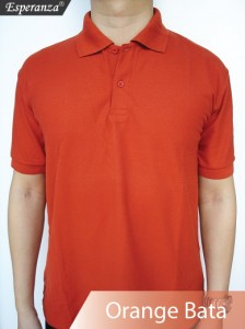 Polo-Shirt-Orange-Bata
