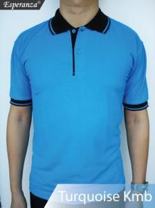Polo-Shirt-Turquoise-Kmb